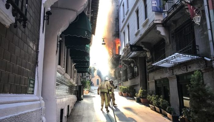 İstanbul Valiliği'nden yangın açıklaması! Bir şüpheli Hatay'da yakalandı