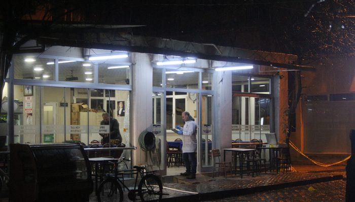 İzmir'de kahvehane önünde silahlı saldırı: 1 yaralı