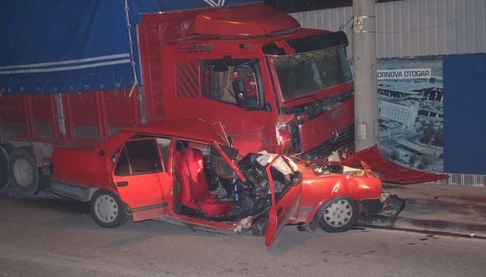 İzmir'de korkunç kaza! Gören inanamadı