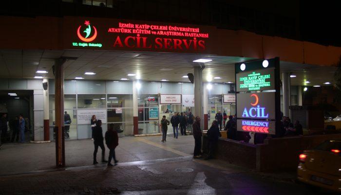 İzmir'de korkunç olay! Mermi ağzından girip boynuna saplandı!