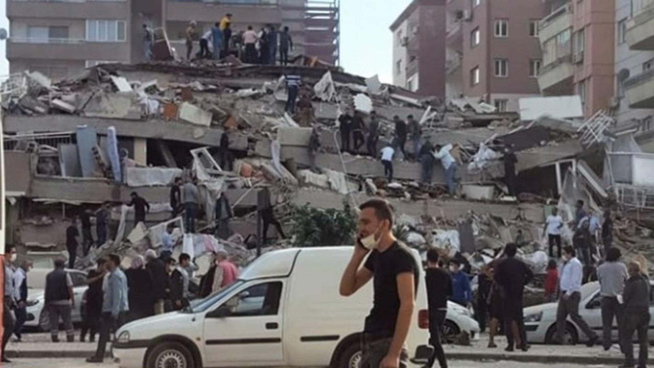 İzmir depreminden son dakika haberleri!