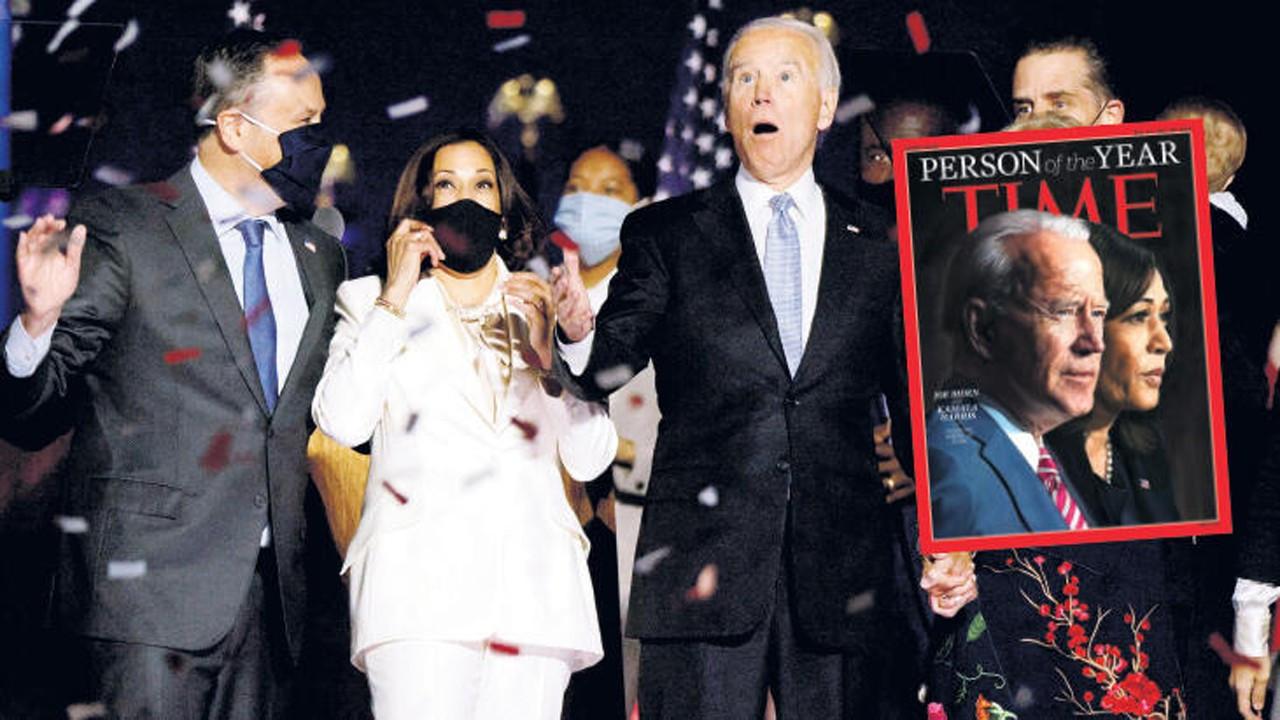 Joe Biden ve Kamala Harris 'Yılın Kişisi' seçildi