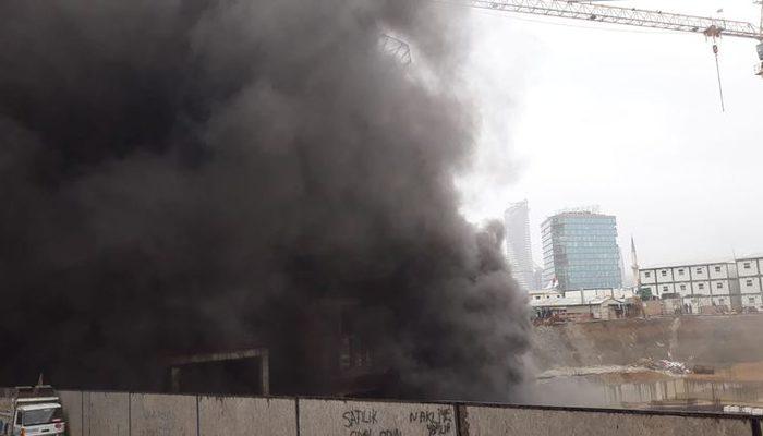 Kadıköy'de büyük yangın! Çok sayıda ekip sevk edildi