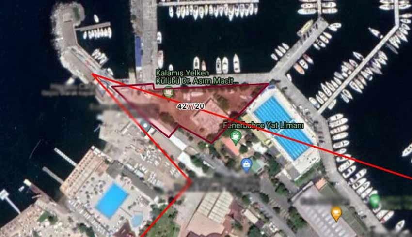 Kadıköy yat limanında 3 dönüm arazi için özelleştirme kararı