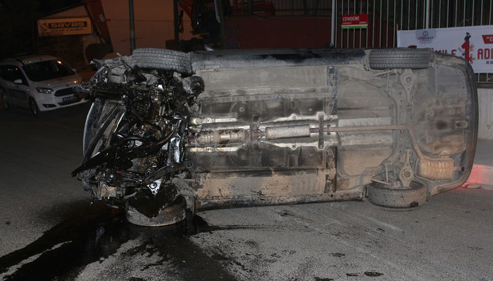 Kağıthane'de kaza! Dakikalarca kaldırılışını izledi