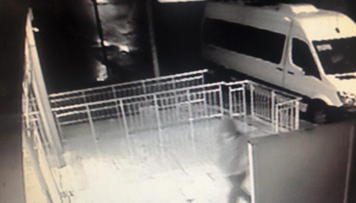 Kameralar soygunu saniye saniye kaydetti