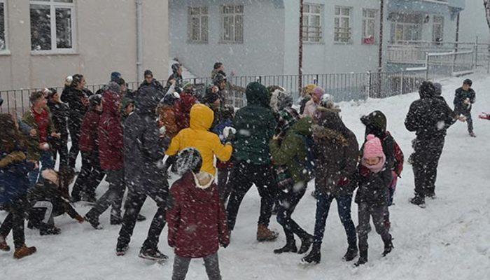 Kar tatili haberleri peş peşe geliyor! İşte okulların tatil olduğu iller