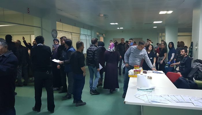 Karabük'te gıda zehirlenmesi: 80 kişi hastanelik oldu