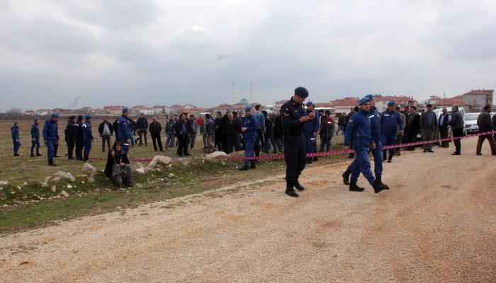 Karaman'da bir kişi arazi yüzünden öldürüldü, yakınları saldırganın evini taşladı