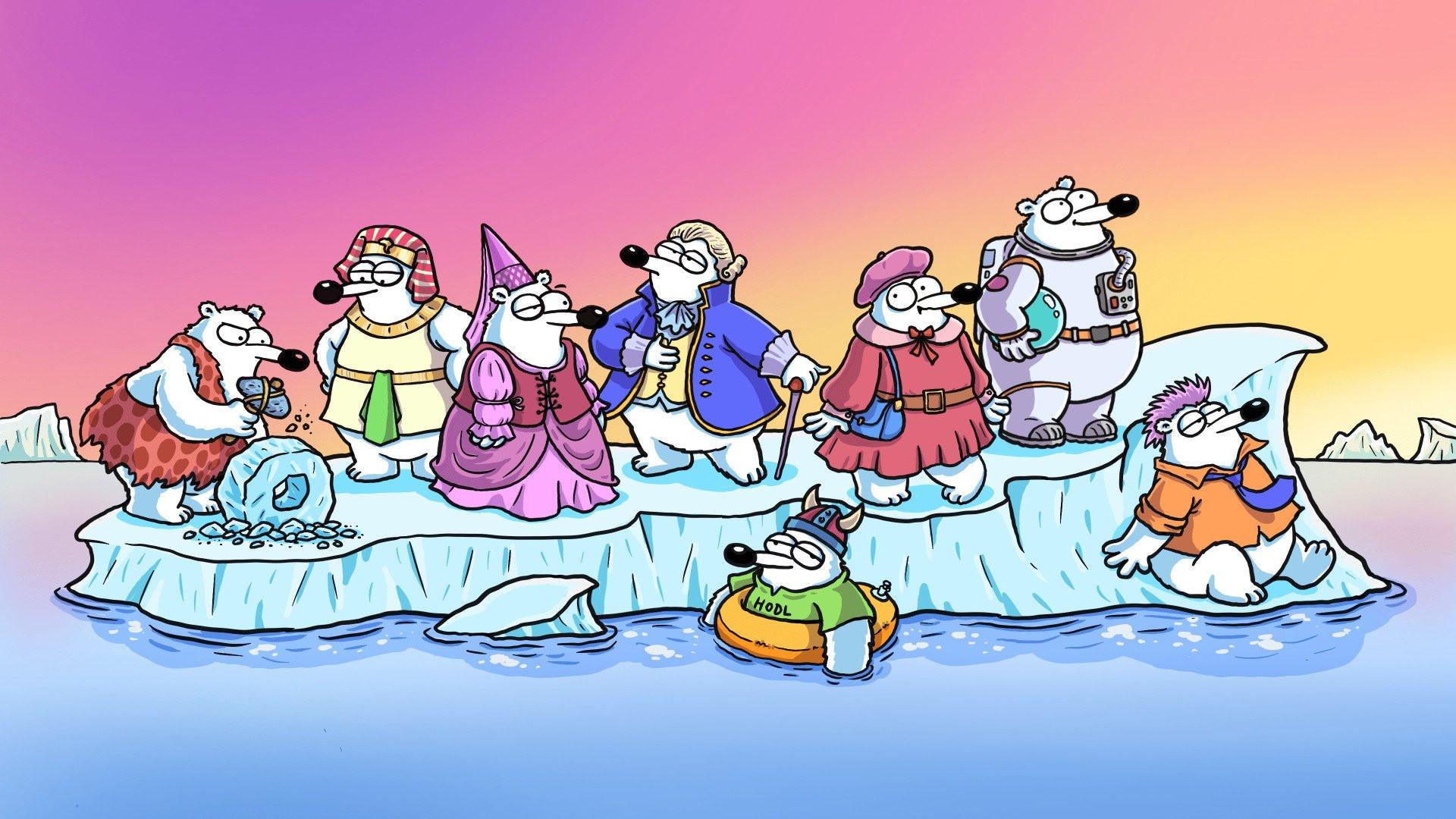 Karikatürist Selçuk Erdem'in NFT koleksiyonu Fluffy Polar Bears saniyeler içerisinde tükendi