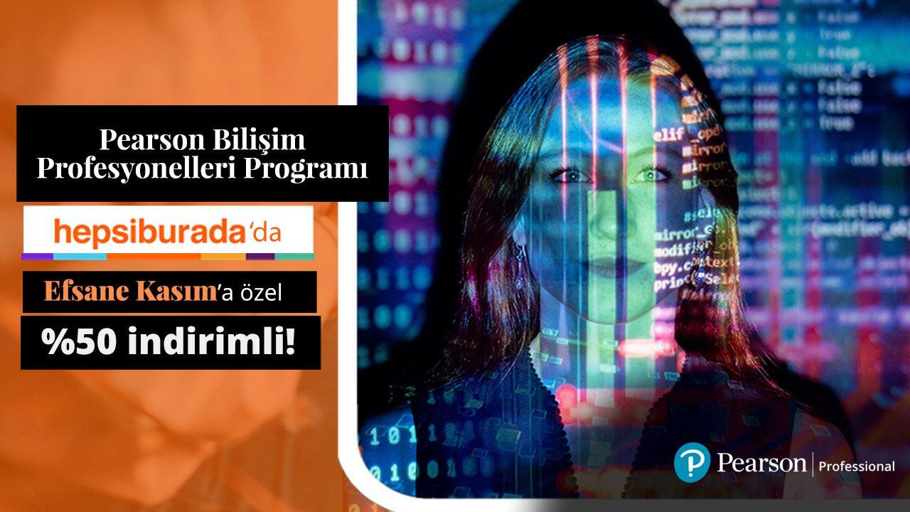 Kariyerinize Yepyeni Bir Yön Vermeye Ne Dersiniz? Pearson Bilişim Dersleri Şimdi %50 İndirimli!
