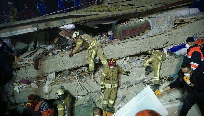 Kartal'da çöken binada ölenlerin sayısı 11'e yükseldi