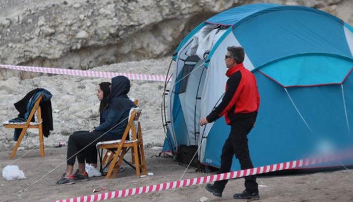 Kayseri'de kamp yapan gencin korkunç ölümü