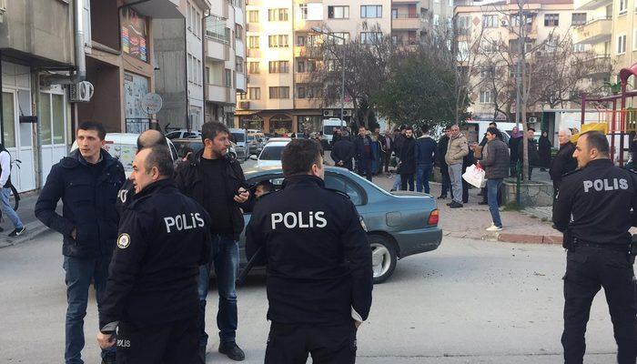 Kaza sonrası ortalık karıştı: 1 polis yaralı