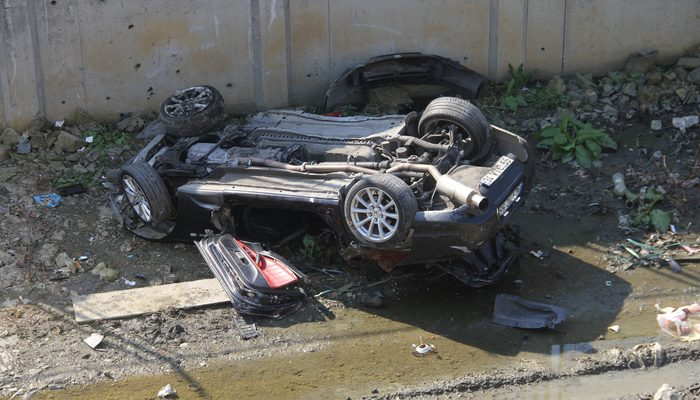 Kazadan dakikalar önce aracının içinde