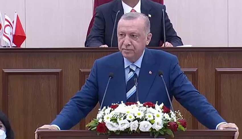 KKTC'ye tarihi ziyaret: Erdoğan merakla beklenen müjdeyi açıkladı: Yeni külliye