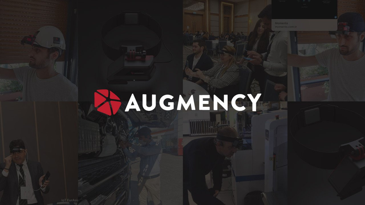 Koç Holding ve Inventram giyilebilir artırılmış gerçeklik teknolojisi üreten Augmency'ne 1 milyon dolar yatırım yaptı