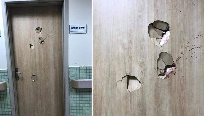 Kocaeli'de doktora saldıran hasta yakını, oda kapısını yumruklayarak kırdı