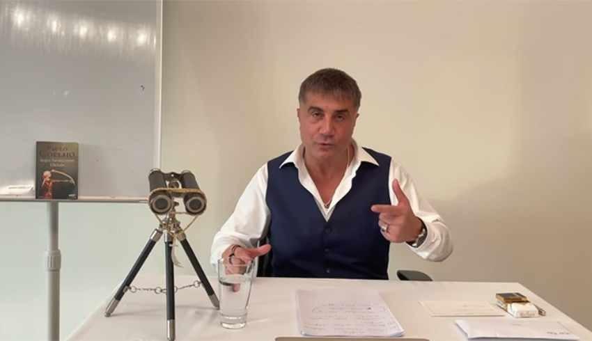 Koronaya yakalanan Sedat Peker: Hastalığım biraz ağır geçiyor