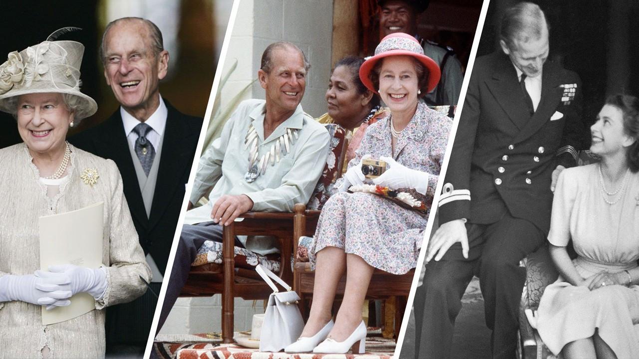 Kraliçe Elizabeth ve Prens Philip 73 yılı devirdi