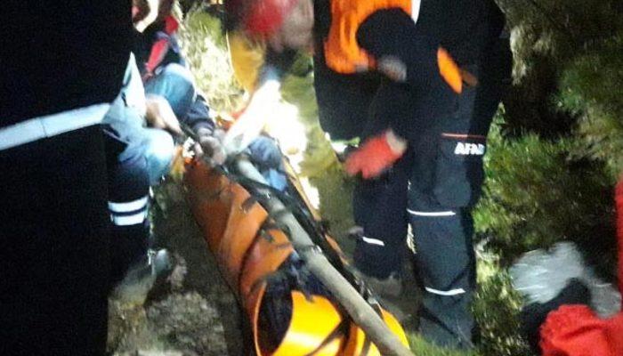 Küçük Balan Dağı'nda feci ölüm! 60 metre yükseklikten yere çakıldı