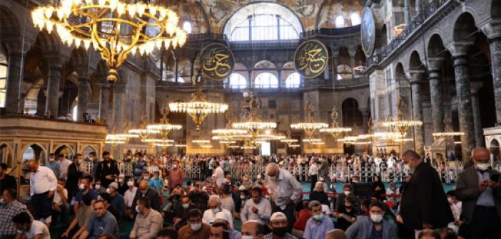 Kur'an-ı Kerim'i Güzel Okuma Yarışması Finali Ayasofya Camii'nde Yapıldı