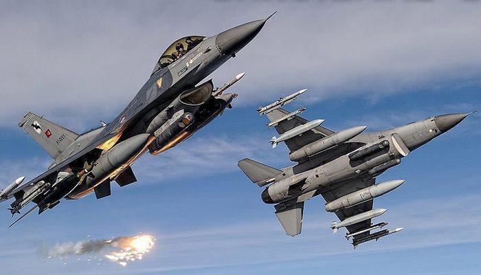 Kuzey Irak'a hava harekatı! İmha edildiler