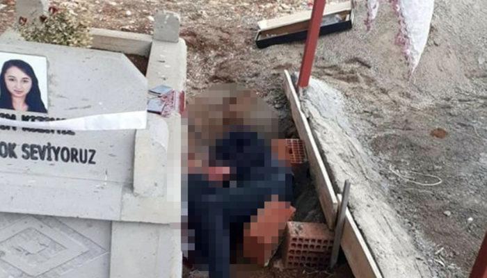 Malatya'da tüfekle mezarlıkta canına kıydı