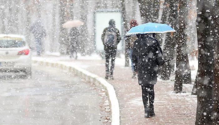 Meteoroloji bölge bölge uyardı! Sağanak yağış ve kar bekleniyor