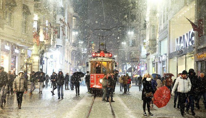Meteoroloji'den son hava durumu tahmini uyarısı! (İstanbul'da kar ne kadar sürecek?)