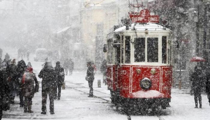 Meteoroloji'den son hava durumu tahmini uyarısı! (İstanbul için kar uyarısı, tarih verildi)