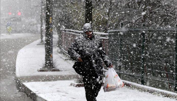 Meteoroloji'den son hava durumu tahmini uyarısı! (İstanbul ve Ankara'ya kar geliyor)