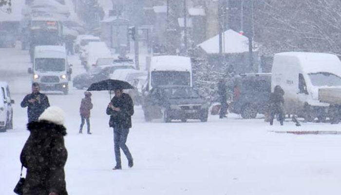 Meteoroloji'den son hava durumu tahmini uyarısı! (Kar, buzlanma ve çığ uyarısı)