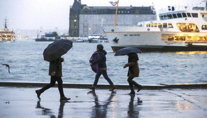 Meteoroloji'den son hava durumu tahmini uyarısı! (Sağanak yağış ve fırtına uyarısı)