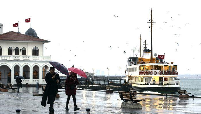 Meteoroloji'den son hava durumu tahmini! Yağmur uyarısı geldi (6 Mart İstanbul'da hava nasıl olacak?)