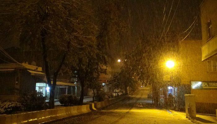 Meteoroloji o bölgeleri uyardı! Dikkat: Kar geliyor
