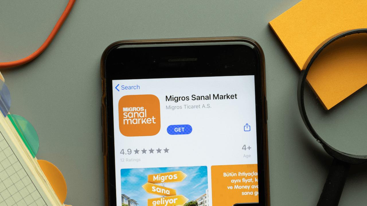 Migros Hemen'i de kendi uygulamasına entegre eden Migros, SuperApp olma yolunda ilerliyor