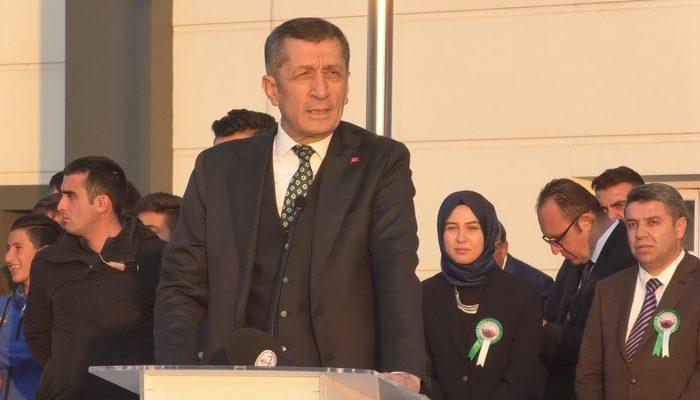 Milli Eğitim Bakanı Ziya Selçuk'tan Ağrı ziyaretinde dikkat çeken sözler!