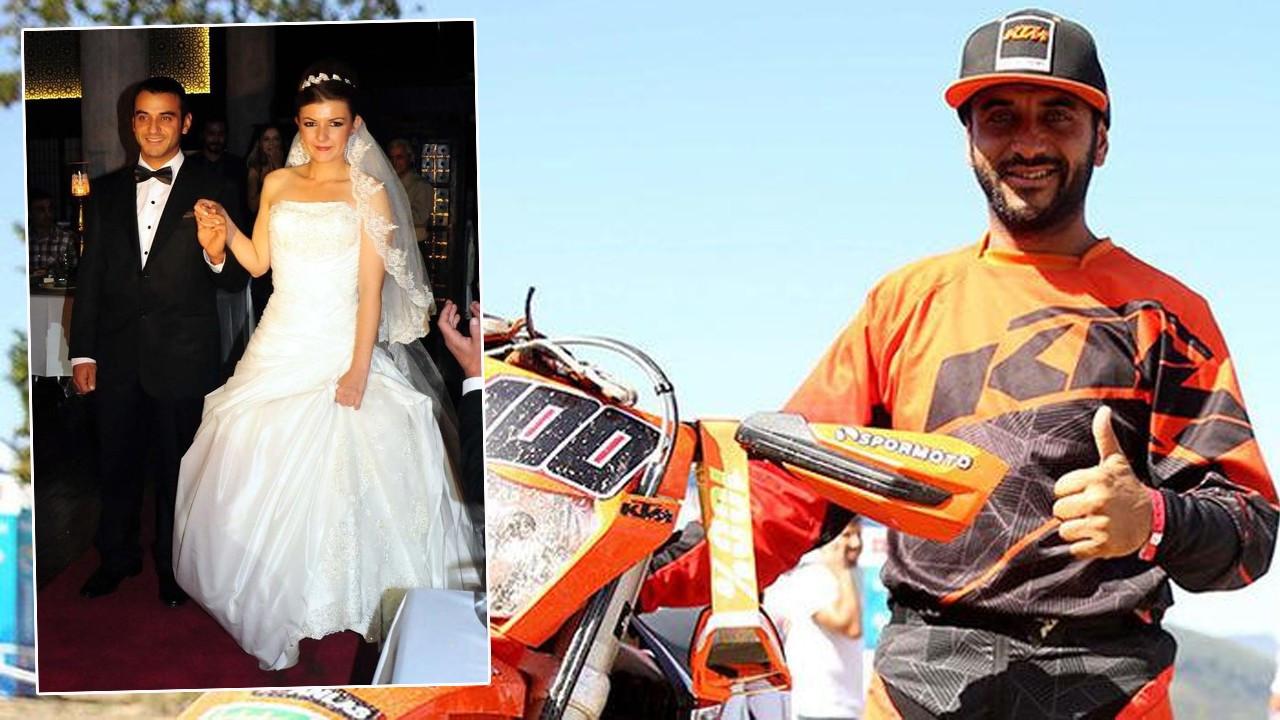 Milli motosikletçinin evliliği tek celsede bitti