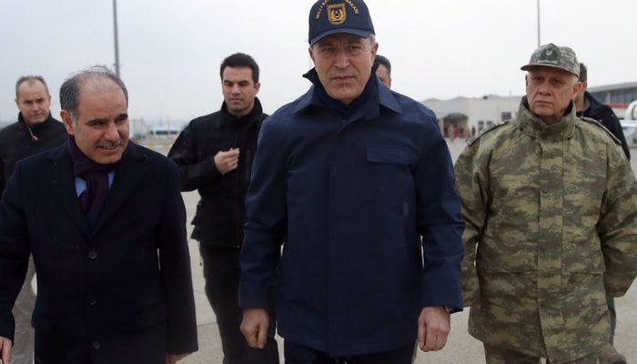 Milli Savunma Bakanı Akar ile Kara Kuvvetleri Komutanı Orgeneral Dündar sınırda!