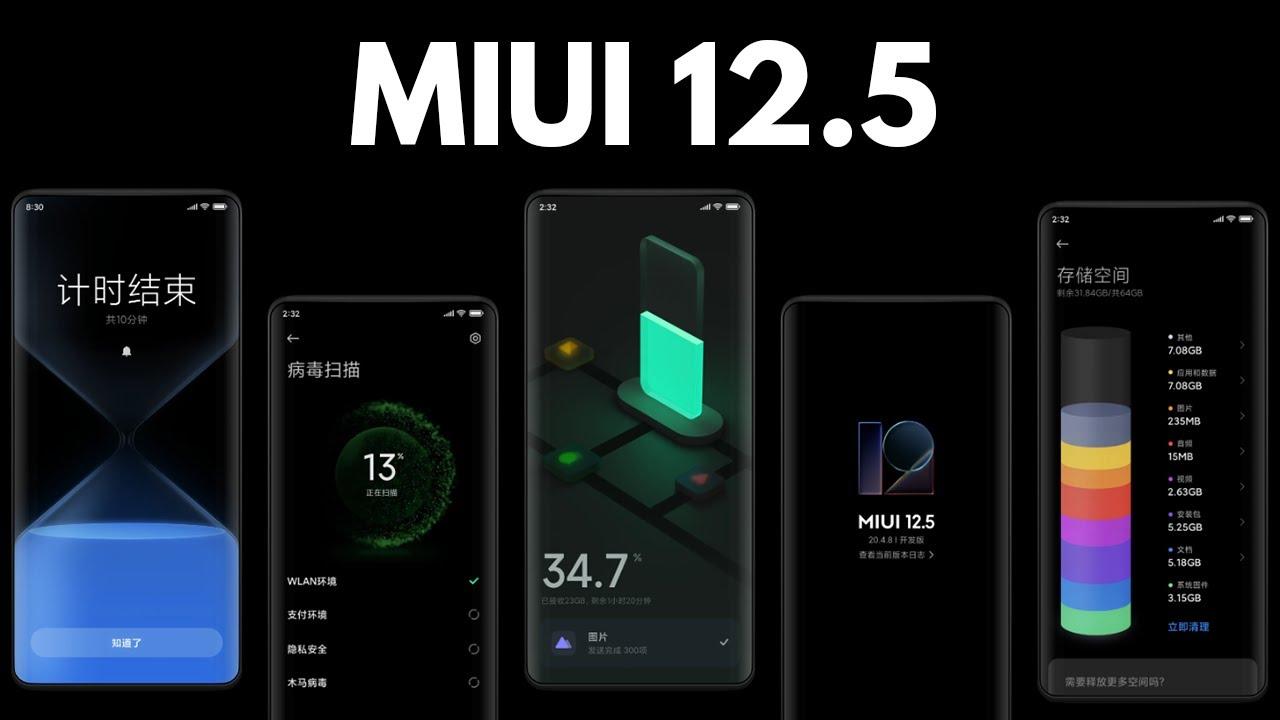 MIUI 12.5 Global sürüm çıktı! İşte ilk alan model Xiaomi'nin en son arayüzü MIUI 12.5 cihazlara ulaşmaya devam ediyor. Güncelleme Çin'de sunulurken bugünde...