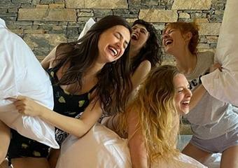 'Mucize Doktor' kızları tatilde