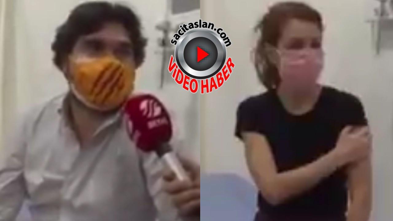 Nagehan Alçı ve Rasim Ozan canlı yayında Corona virüs aşısı oldu