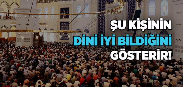"""""""Namazı Uzun Kıldırıp Hutbeyi Kısa Kesiniz"""" Hadisi"""