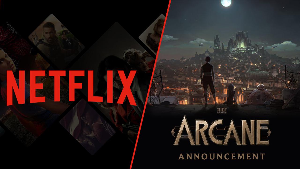 Netflix'ten LOL oyuncularına sürpriz: Arcane Netflix, League of Legends oyuncularının merakla beklediği Arcane animasyon dizisi için müjdeyi verdi...