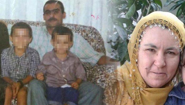 Oğlunun gözünün önünde karısını öldürüp bıçağı yıkadı
