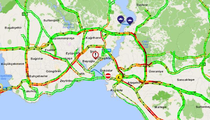 Okulların tatil edilmesi İstanbul'da trafiği rahatlattı