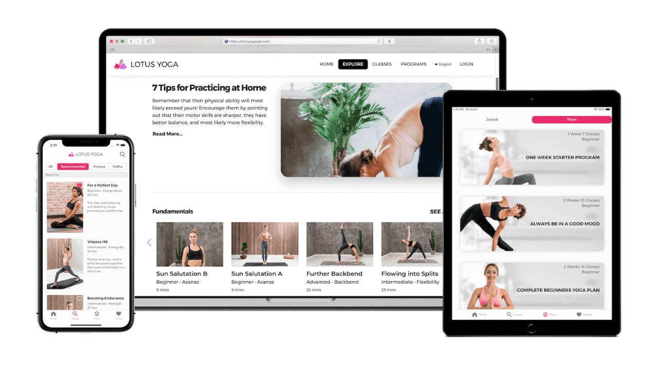 Online yoga, fitness ve mindfulness platformu Lotus, 3,65 milyon dolar değerleme üzerinden yatırım aldı