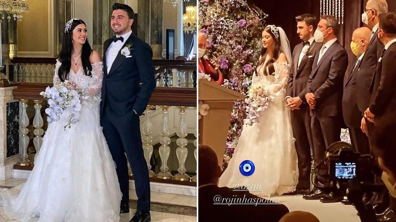 Ozan Tufan ve Rojin Haspolat evlendi