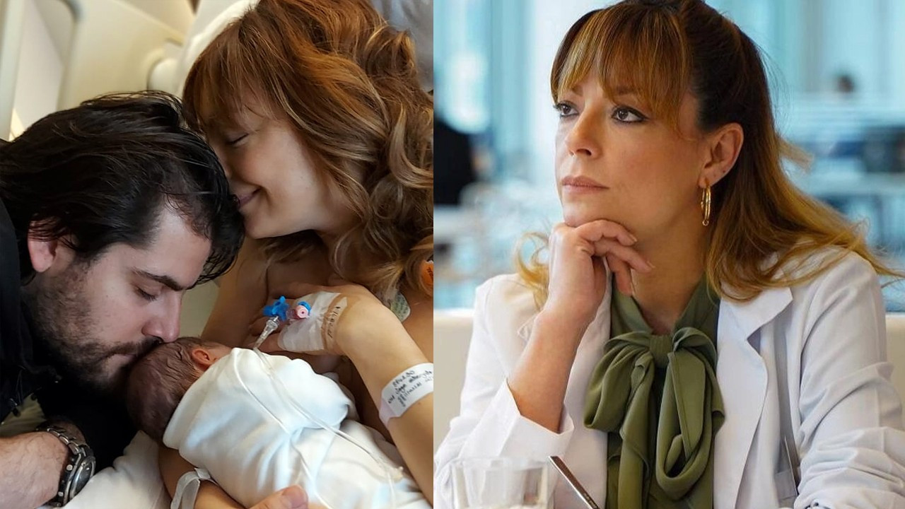 Özge Özder'in bebeğinin isim annesi hangi ünlü oyuncu çıktı?